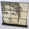 "BALAZO – 2006 - Welded steel fame with lead buckshot in resin – 30"" x 30"" x 1¼"""